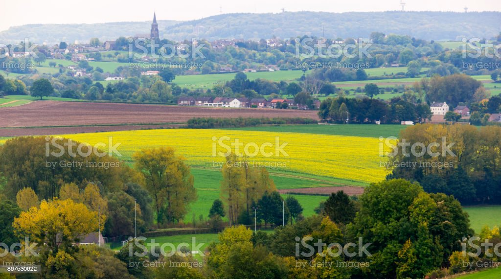 Limburg Landscape stock photo