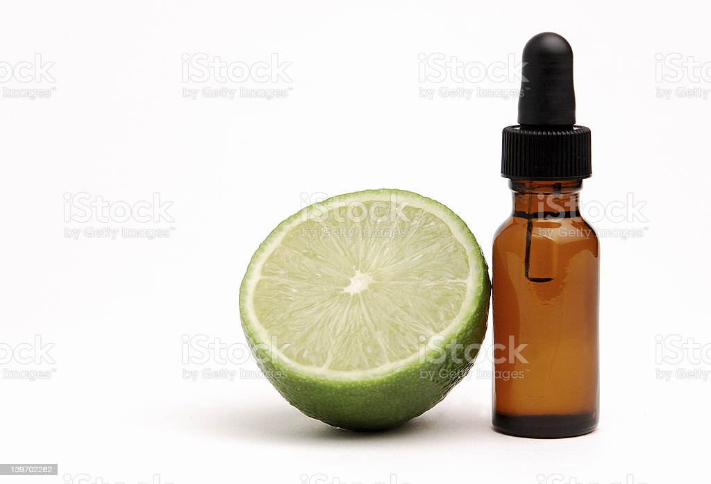 Lime Aromatherapy stock photo