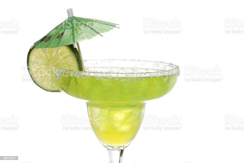 Lime aromatisierten margarita Lizenzfreies stock-foto