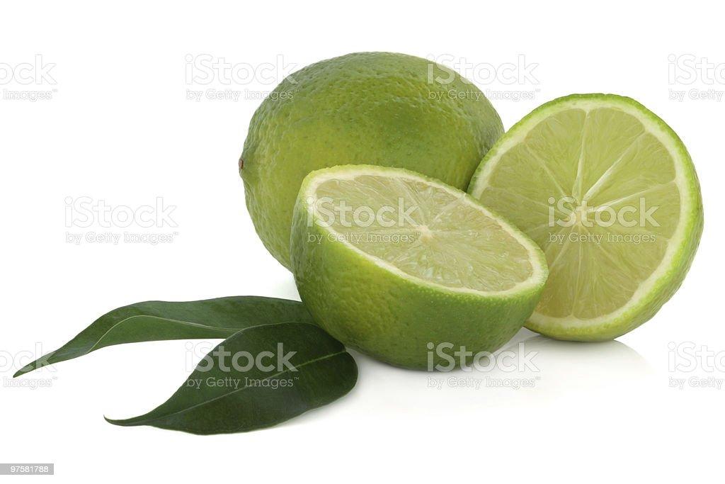 Citron vert fruits photo libre de droits