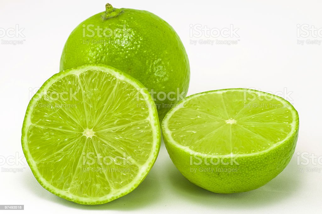 Lime fruits royalty-free stock photo