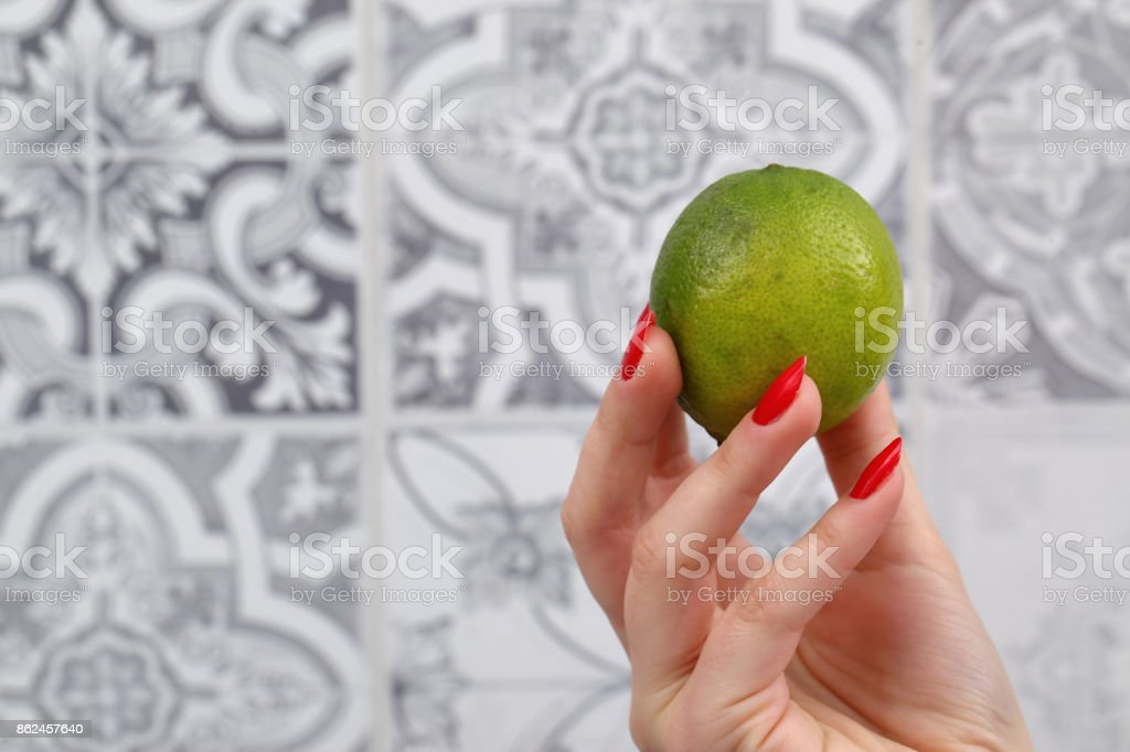 lime green stock photo