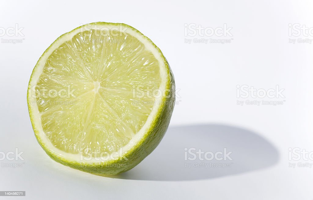 Lime Half royalty-free stock photo