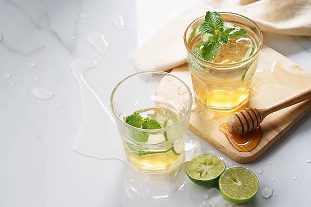 lime honey iced drinks – Foto