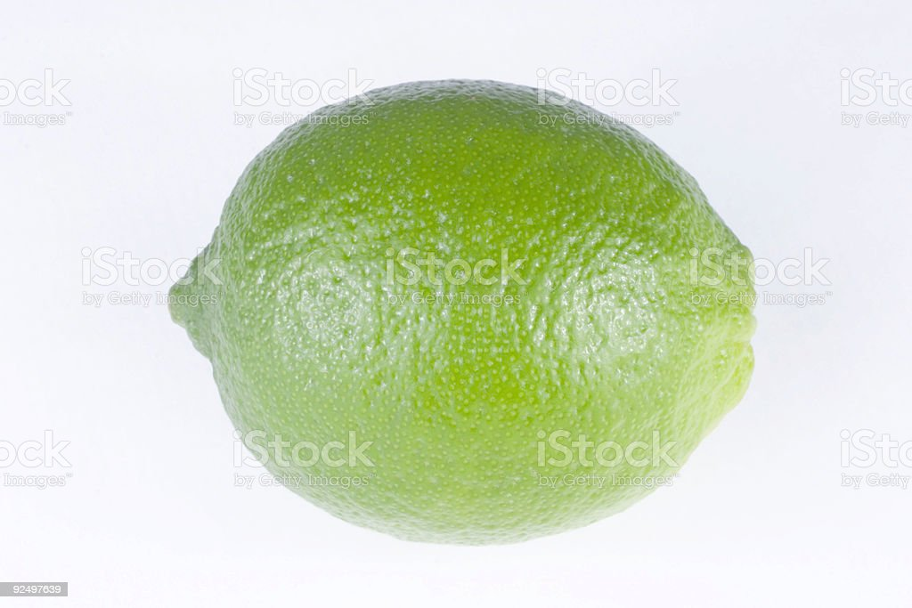 Lime, Isolated royalty-free stock photo