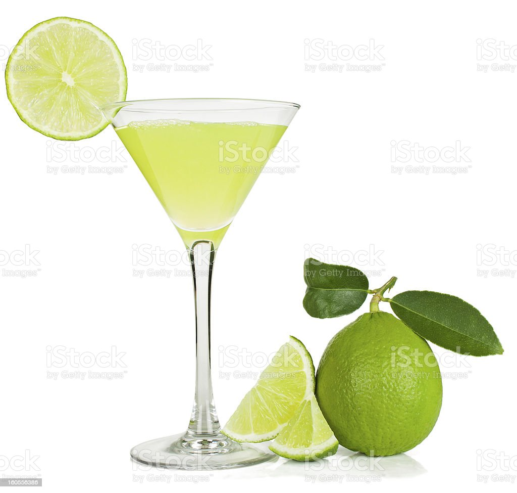 lime juice and  fruit stock photo