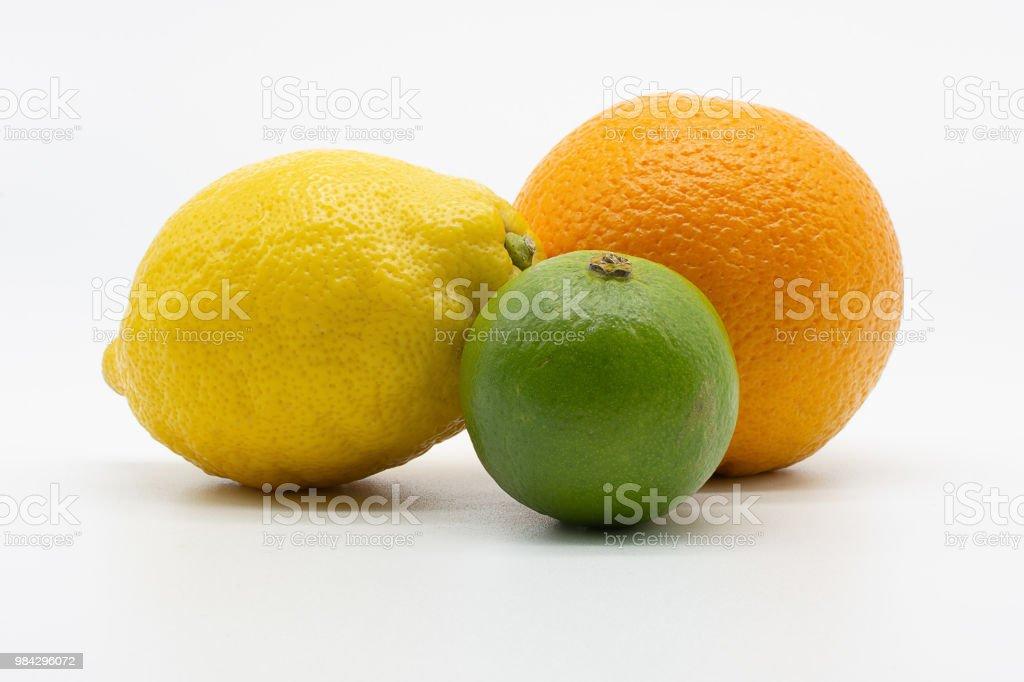Limette, Zitrone und orange – Foto