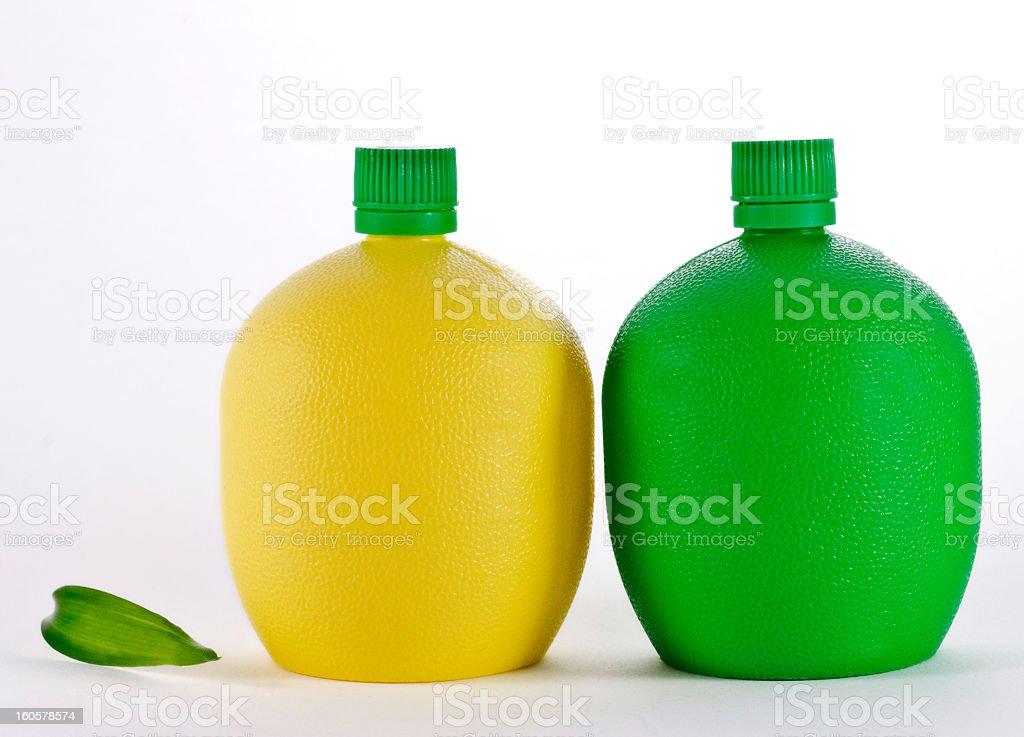 Lime & Lemon Juice royalty-free stock photo