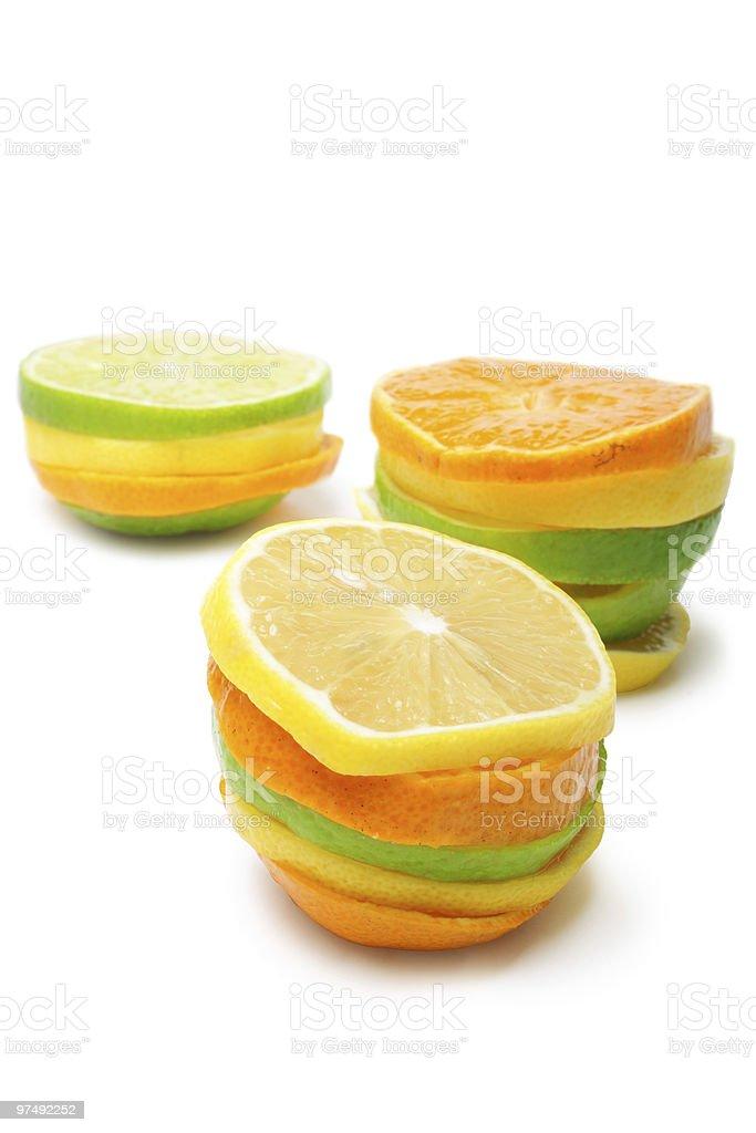 Lime mandarine lemon royalty-free stock photo
