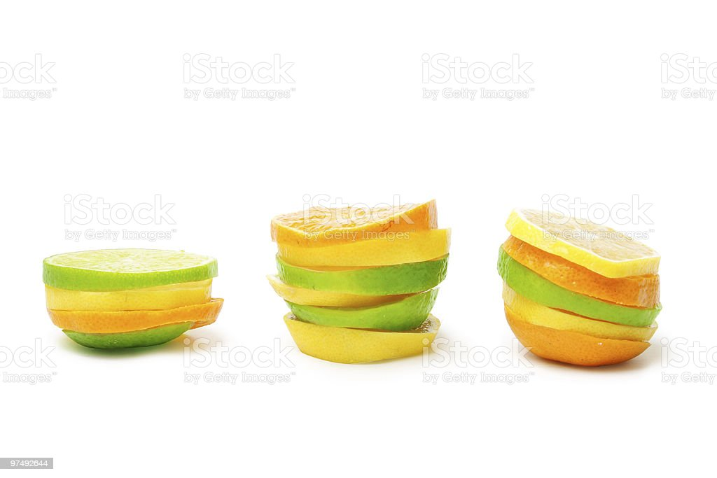 Lime mandarine limon royalty-free stock photo