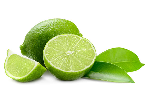 lime lime Isolated On White lime stock pictures, royalty-free photos & images
