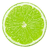 Lime portion on white background. Clipping path included.Related picture: