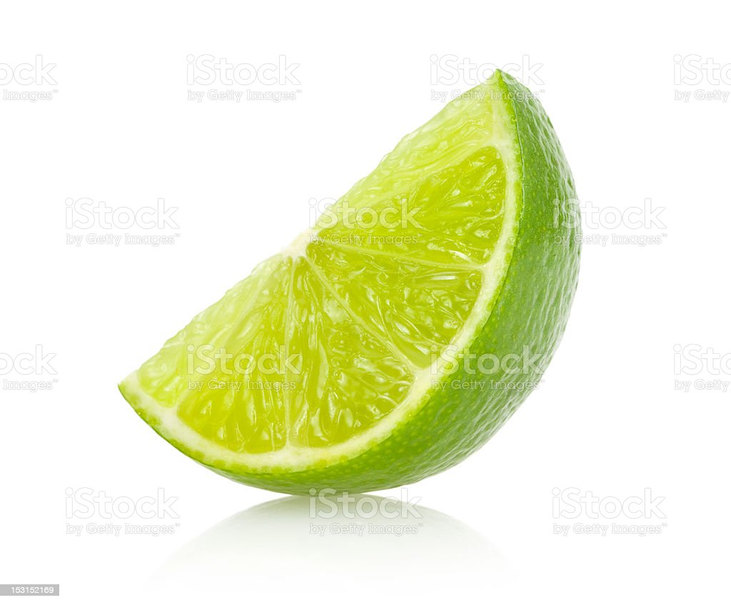 lime slice royalty-free stock photo