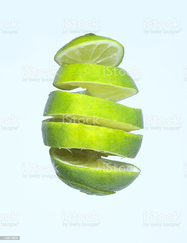 lime spiral royalty-free stock photo