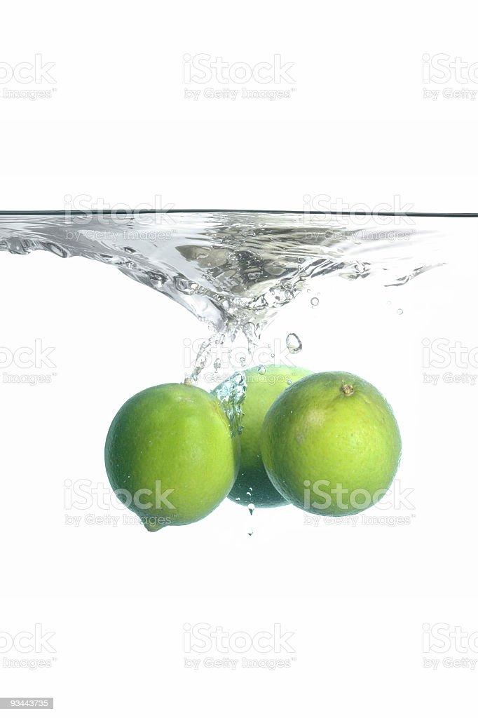 Splash Lime Lizenzfreies stock-foto