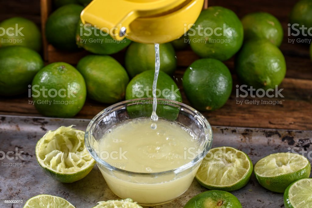 Lime,Lemon juice royalty-free stock photo