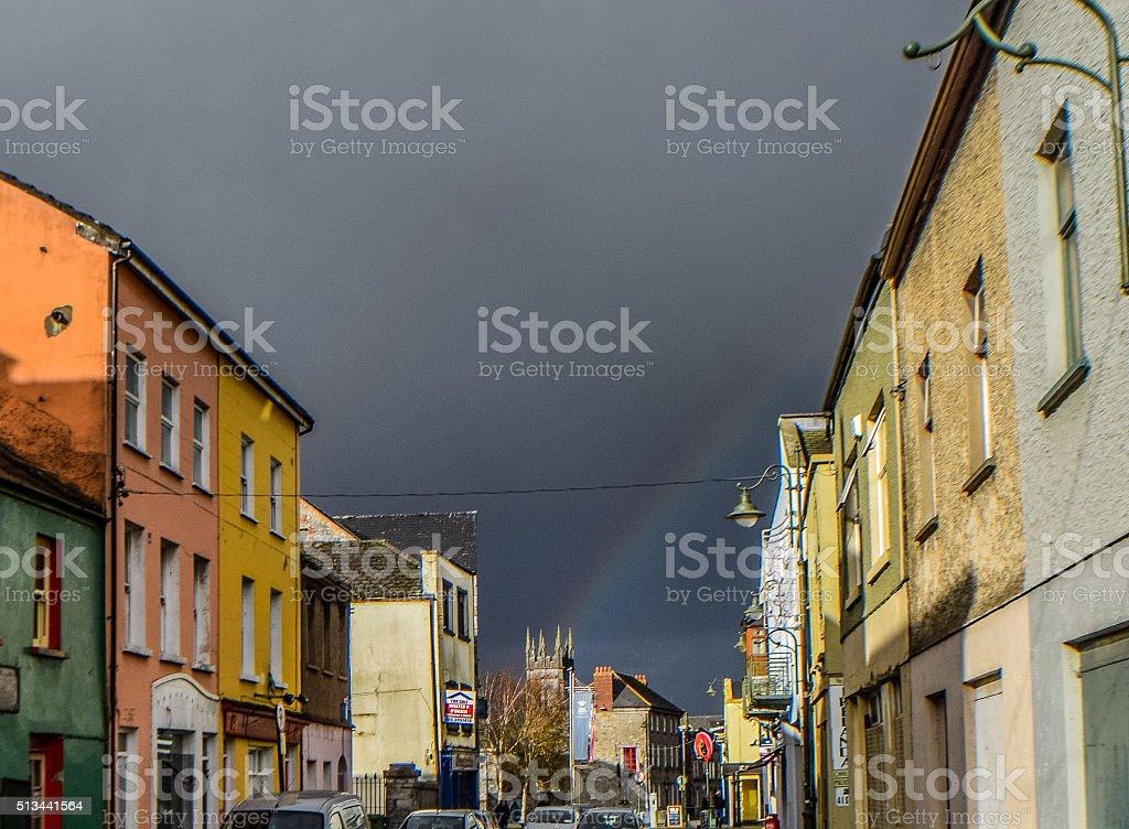 Limerick Rainbow stock photo