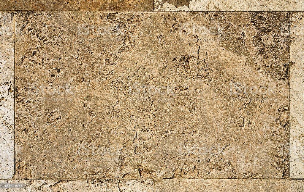 Limestone background - tile detail stock photo