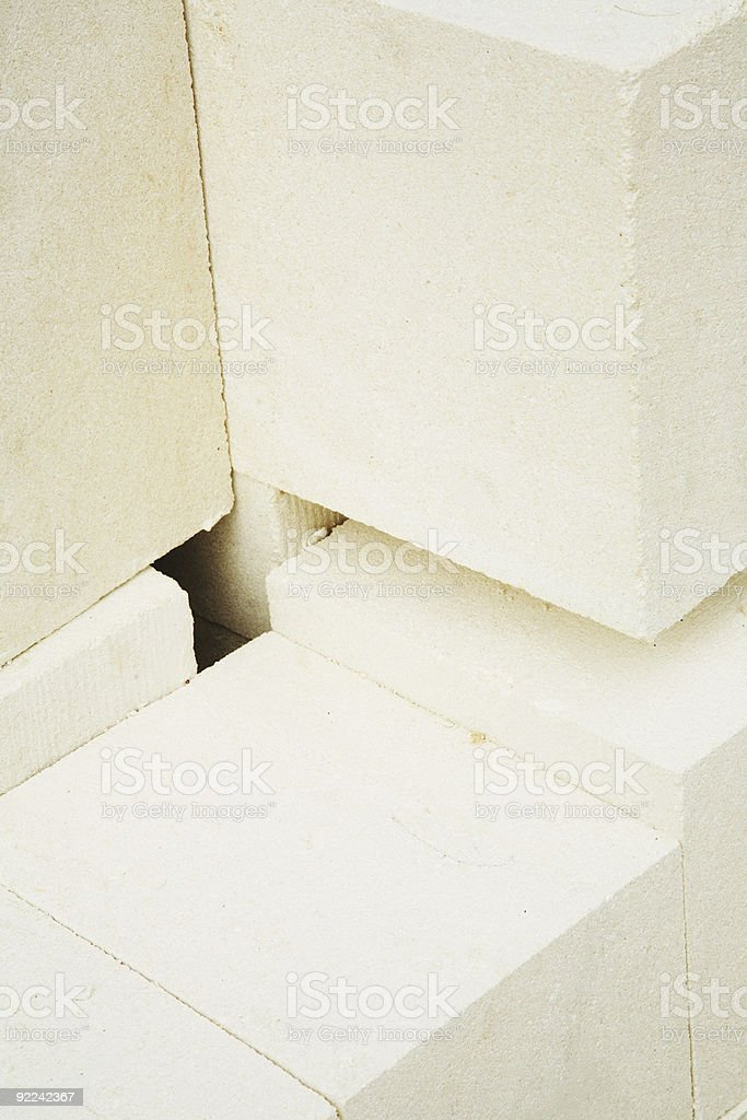 Limestone Blocks royalty-free stock photo