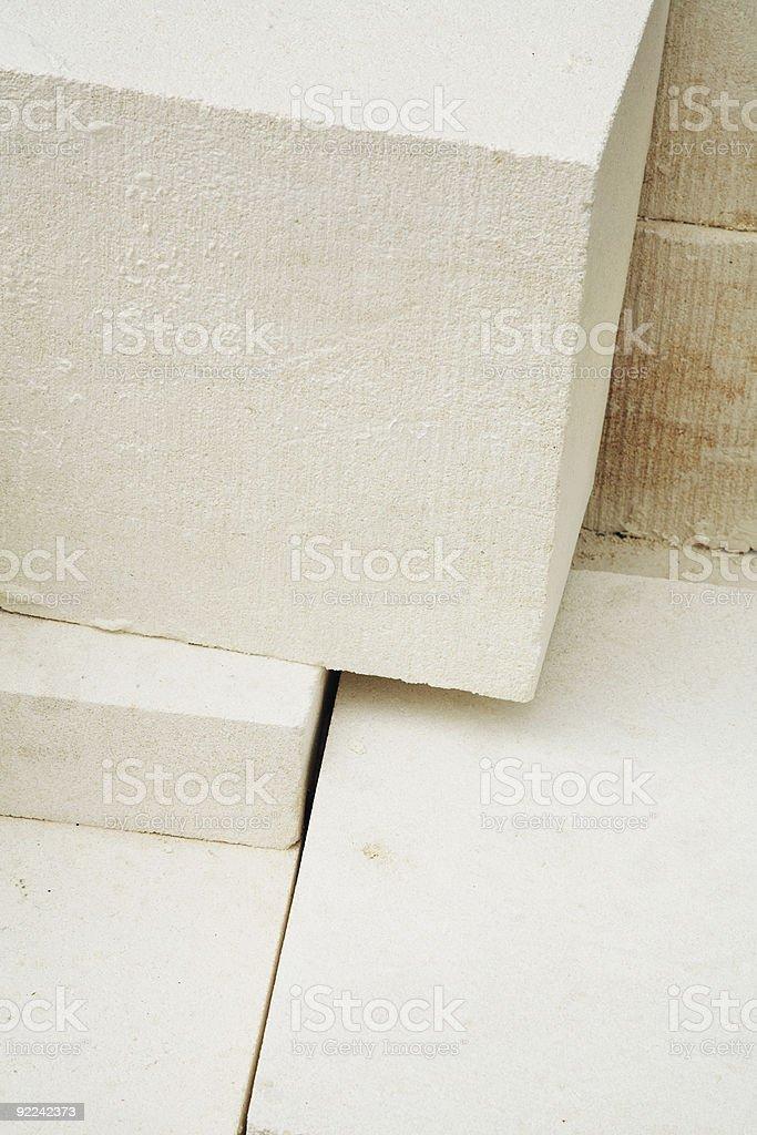 Limestone Blocks royalty-free stock photo