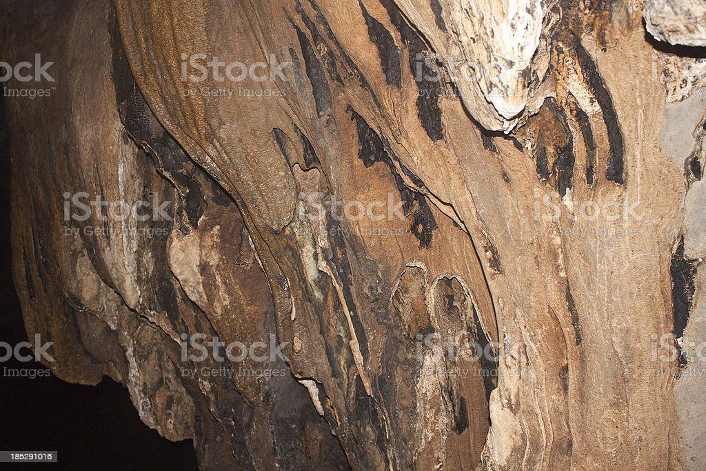 Limestone formations stock photo