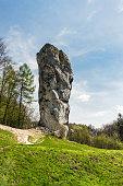 istock Limestone rock called