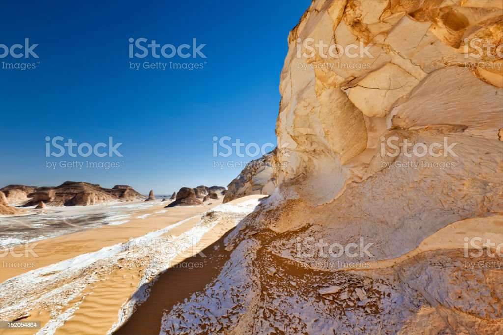 Limestone Rocks stock photo