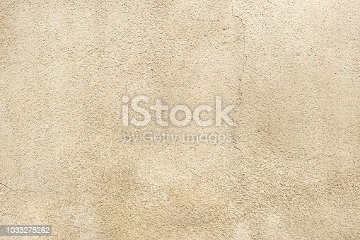 istock Limestone, sandstone pink wall background. Weathered, vintage, empty surface for backdrop. Close up. 1033275262