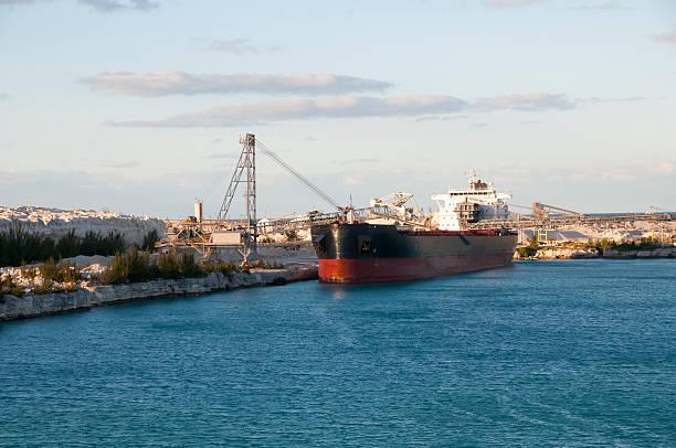 Limestone Tanker stock photo
