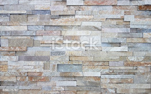 Colorful limestone wall texture