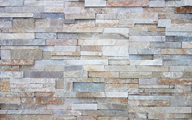 limestone wall textur - pierre photos et images de collection