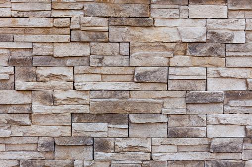 Limestone wall textur
