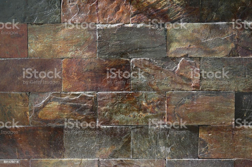 Limestone wall textur, Stone Material, Wall - Building Feature, Tile, Brick stock photo