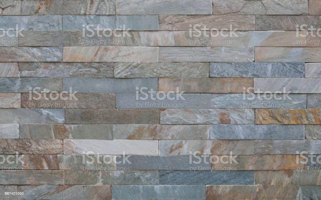 Limestone wall texture stock photo