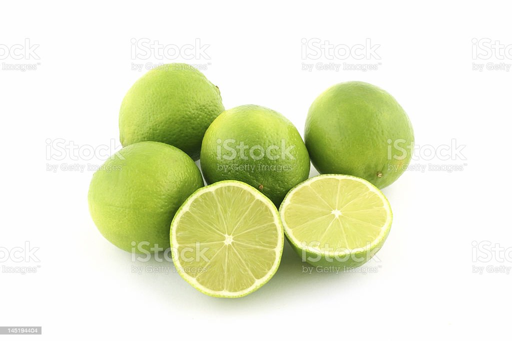 Limes royalty-free stock photo