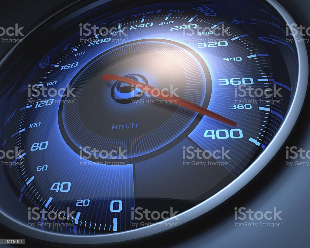 Limit Speed stock photo