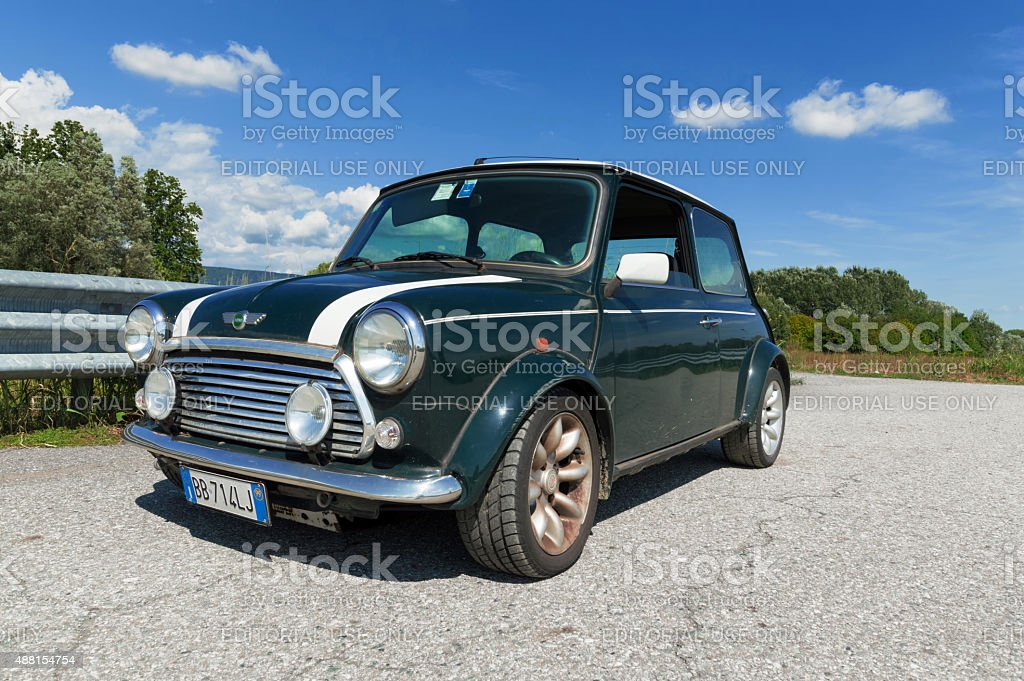 Limited Edition Mini Cooper stock photo