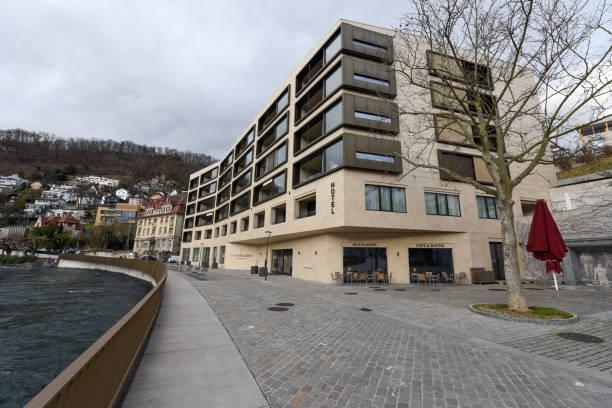 limmathof baden hotel & private spa - wiedenmeier baden stock-fotos und bilder