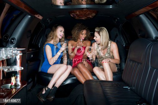 istock Limo Party 184145677