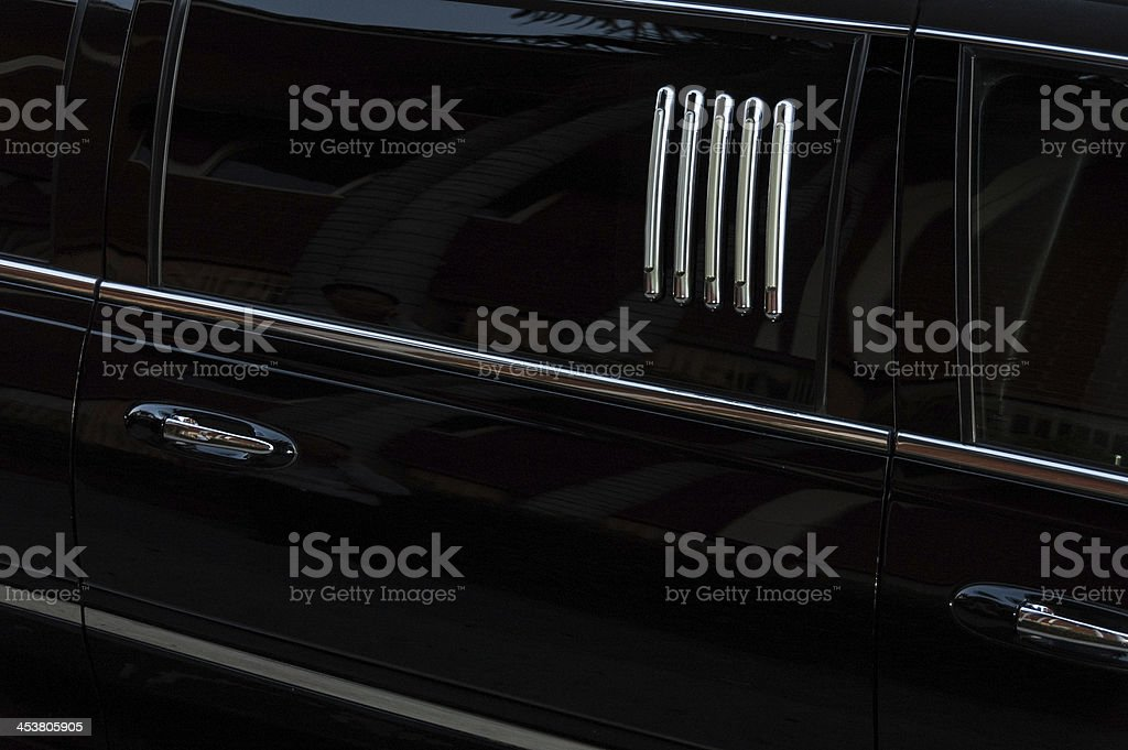 Limo stock photo