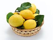 Limoni nel cestino