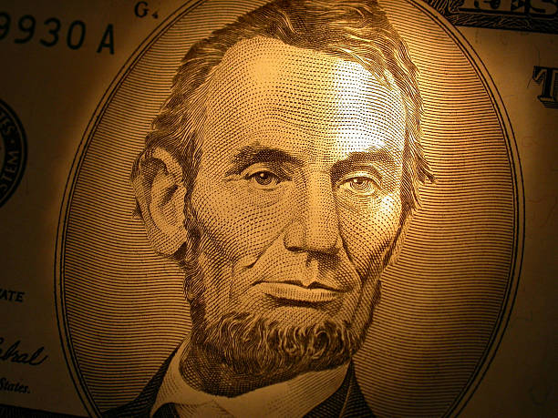 Lincoln by Candlelight - $5 stock photo