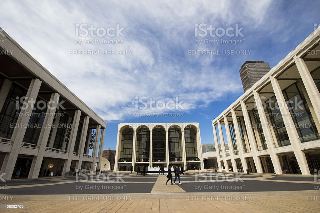 Lincoln Center For Perfoming Arts in NYC stock photo