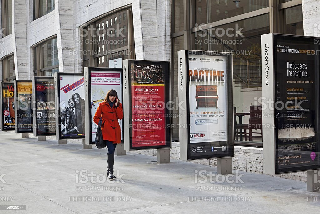 Lincoln Center NYC stock photo