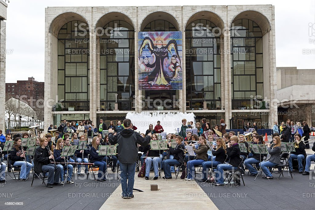 Lincoln Center NYC # 4 XXXL stock photo