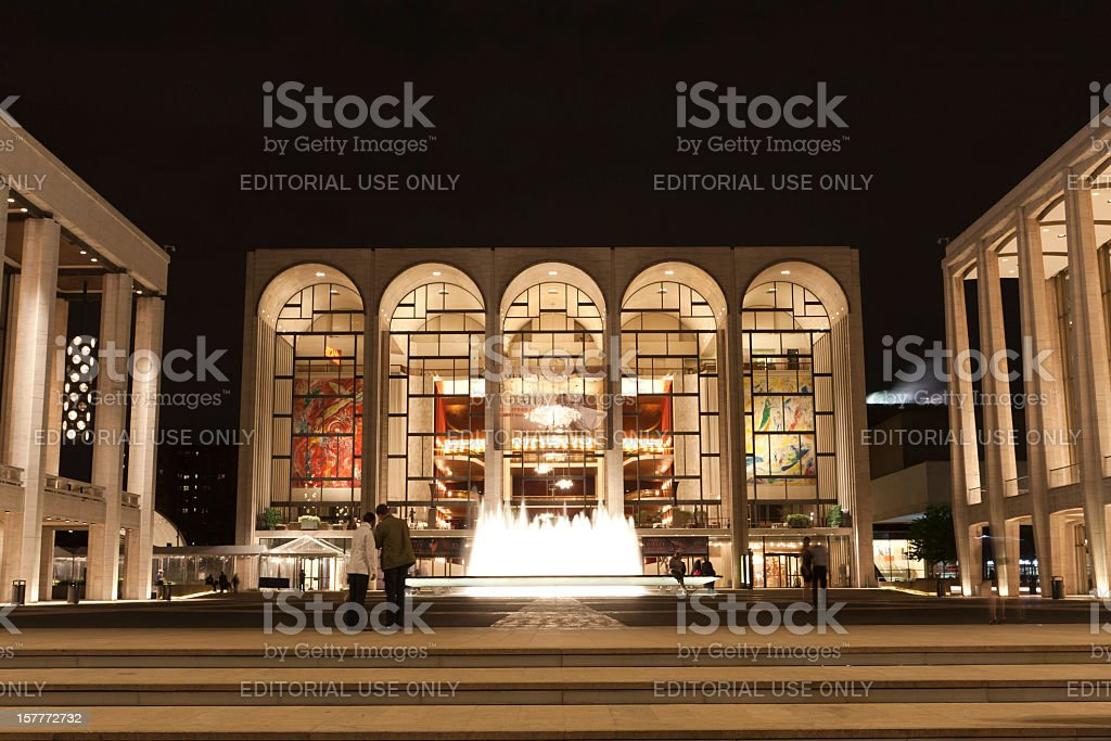 Lincoln Center royalty-free stock photo