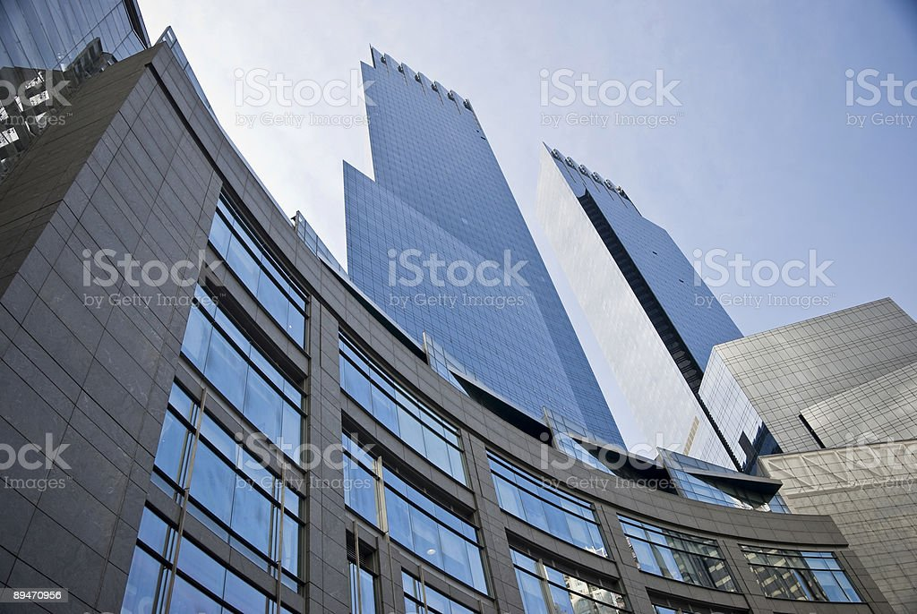 Lincoln Center Towers royalty-free stock photo
