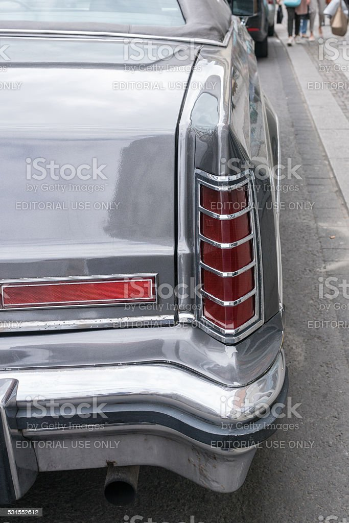 LEIPZIG, SAXONY,  GERMANY- MAY 14, 2016: A Lincoln Continental p stock photo