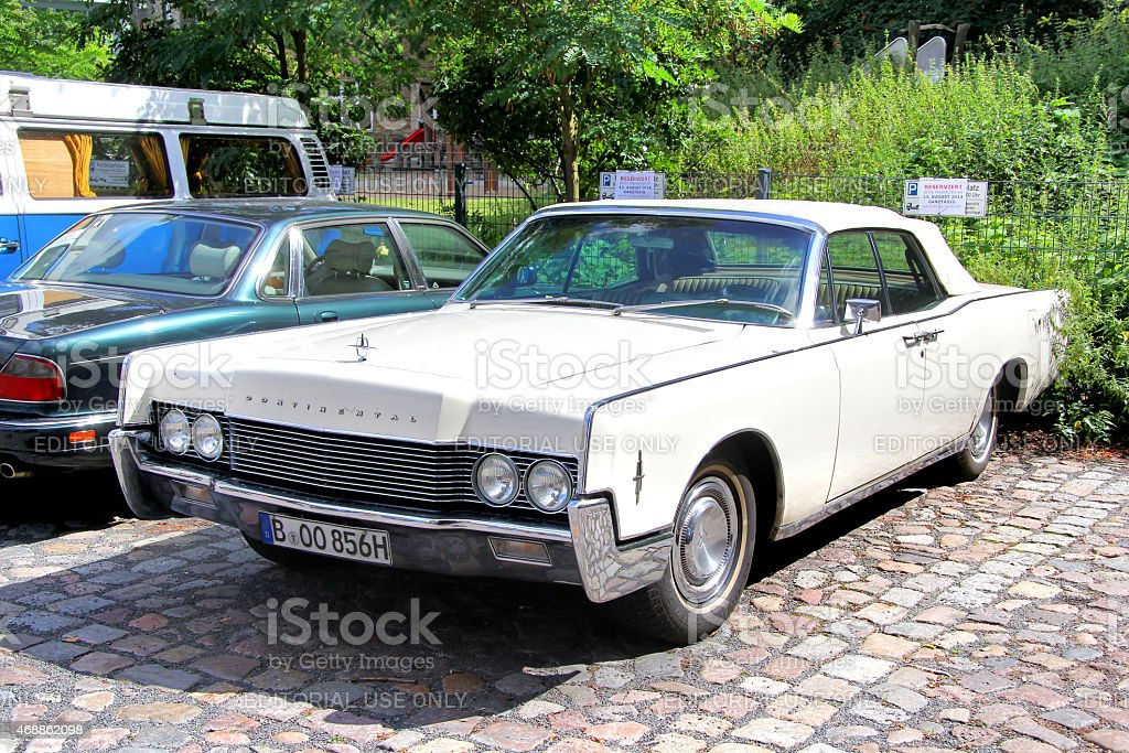 Lincoln Continental stock photo