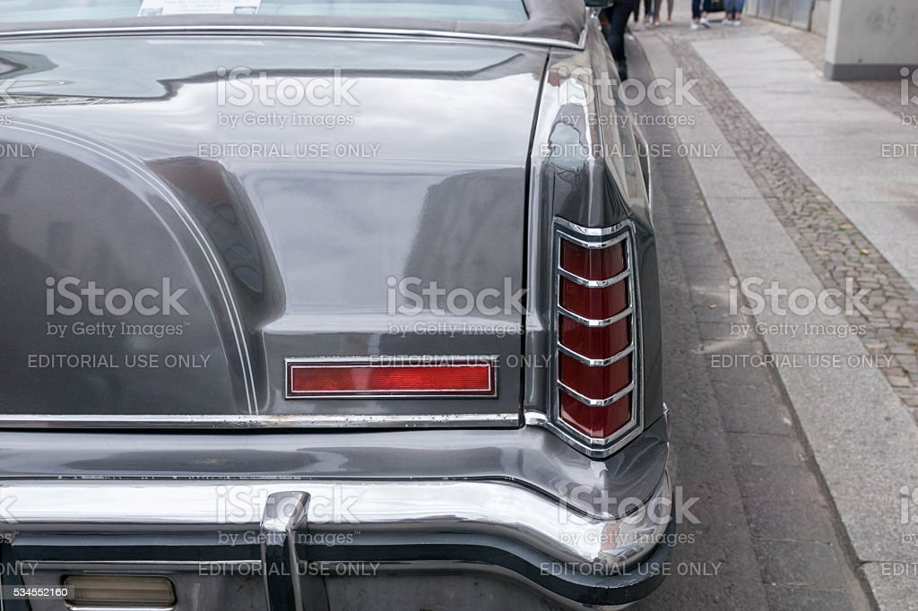 LEIPZIG, SAXONY, GERMANY - MAY 14, 2016: A Lincoln Continental stock photo